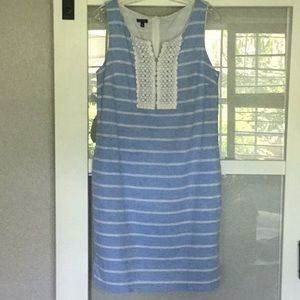 Talbots' Linen Dress